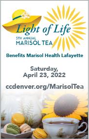 Marisol Tea event button
