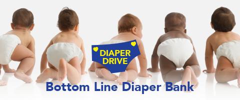 Bottom Line Diaper Bank 2021 mobile header