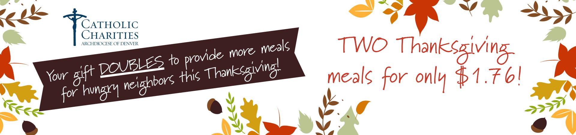 Thanksgiving Appeal 2021 Web header